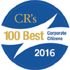 2016 CRs 100  Best Corporate citizens Logo