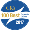 2017 CRs 100 Best Corporate Citizens Logo