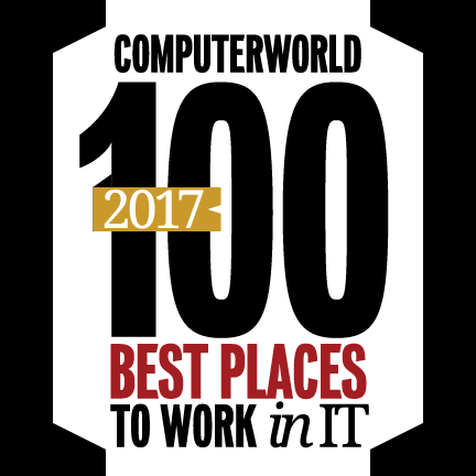 2017 Computerworld 100 Best Places to Work in IT Logo