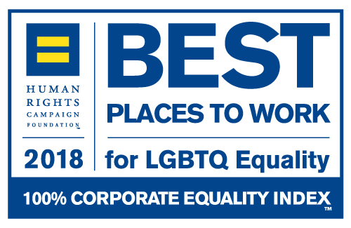 2018 Best Places to Work for LGBTQ Equality Logo