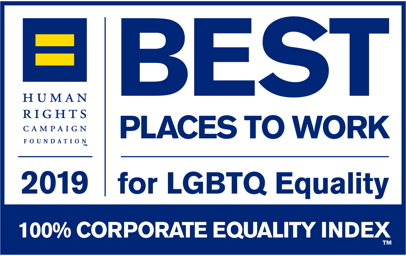 Best Places to Work for LGBTQ 2019 Logo