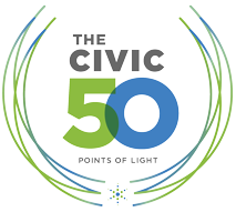 The Civic 50 Point of Light 2019 Logo