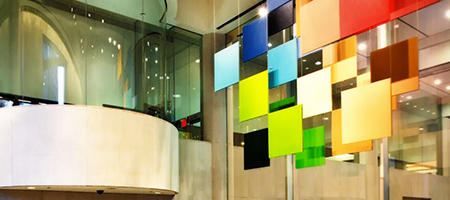 altria headquarters lobby at 120 park ave