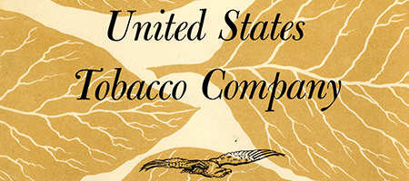 detail of old united state tobacco annual report