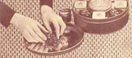 "detail of vintage john middleton ""blend your own pipe tobacco"" advertisement"