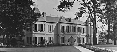 original image of newly constructed chateau ste. michelle