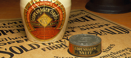 vintage copenhagen snuff products and memorabilia