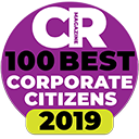 Corporate Responsibility Magazine's 100 Best Corporate Citizens 2019 logo