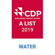 CDP Water A-List badge